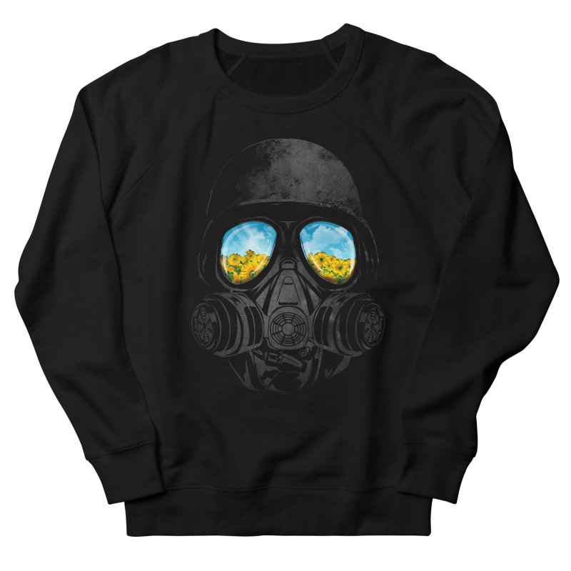 Longing to Breath Men's French Terry Sweatshirt by kooky love's Artist Shop
