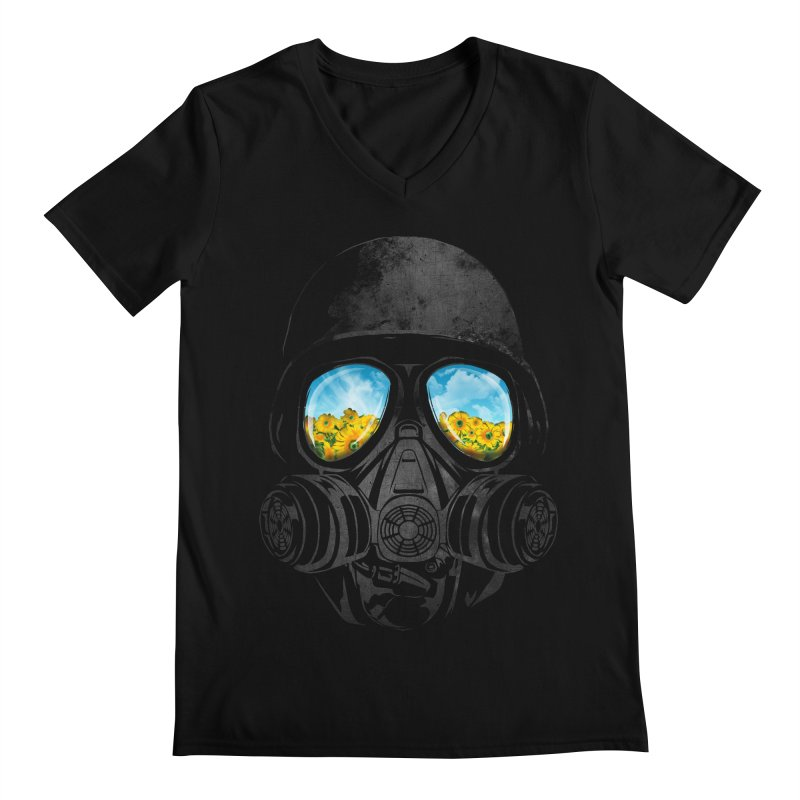 Longing to Breath Men's V-Neck by kooky love's Artist Shop