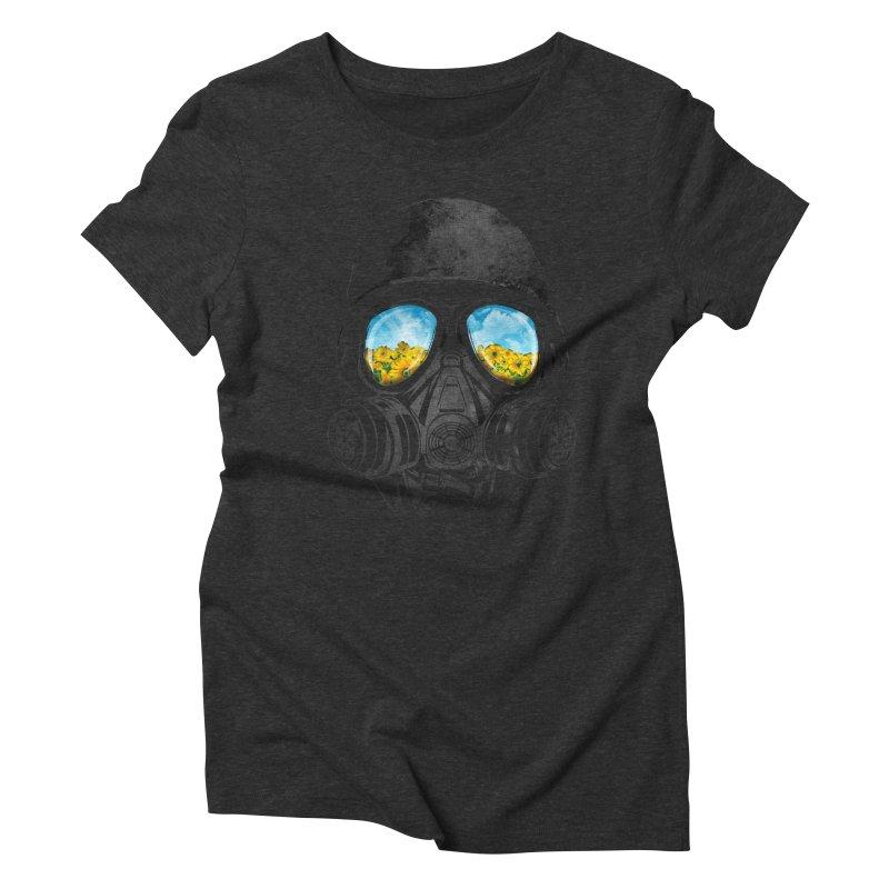 Longing to Breath Women's Triblend T-Shirt by kooky love's Artist Shop