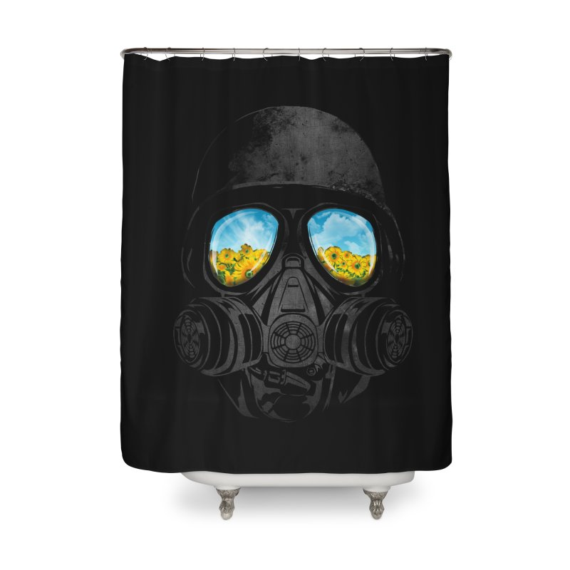 Longing to Breath Home Shower Curtain by kooky love's Artist Shop