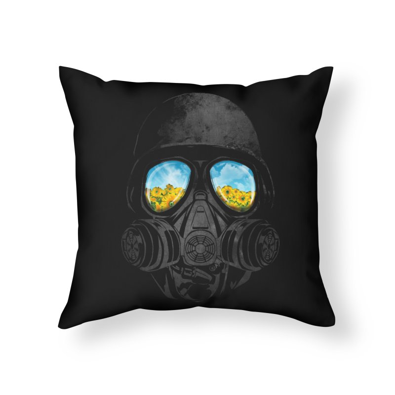 Longing to Breath Home Throw Pillow by kooky love's Artist Shop