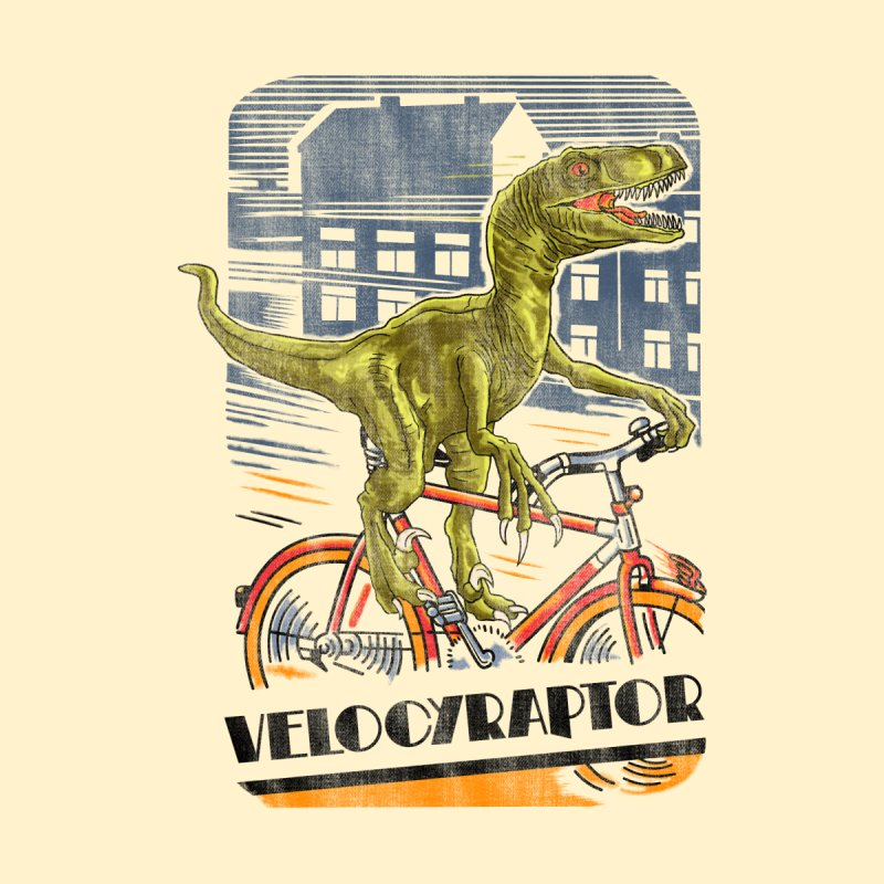 Velocyraptor Home Fine Art Print by kooky love's Artist Shop