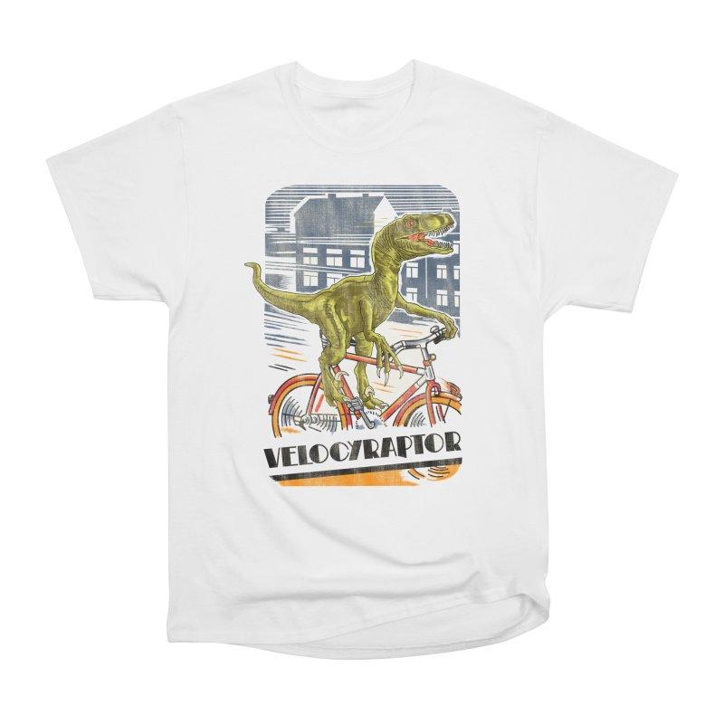 Velocyraptor Men's Heavyweight T-Shirt by kooky love's Artist Shop