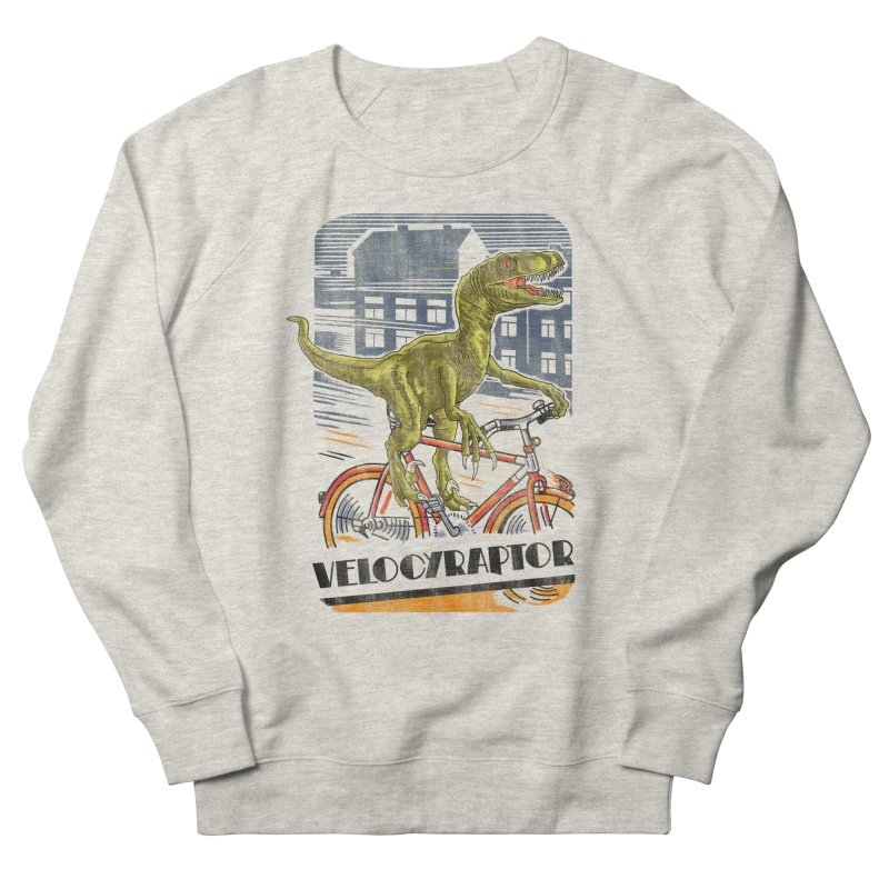Velocyraptor Women's French Terry Sweatshirt by kooky love's Artist Shop