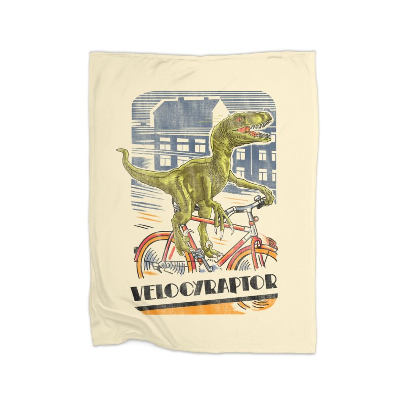 Velocyraptor Home Blanket by kooky love's Artist Shop