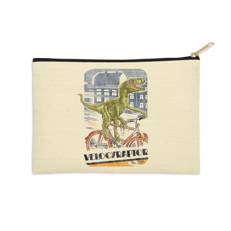 Velocyraptor Accessories Zip Pouch by kooky love's Artist Shop