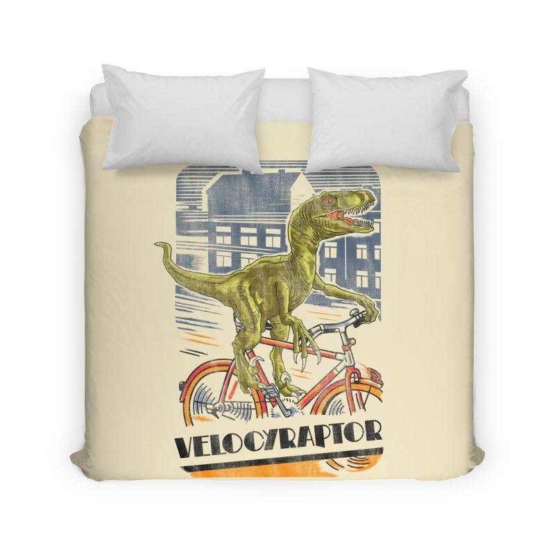 Velocyraptor Home Duvet by kooky love's Artist Shop