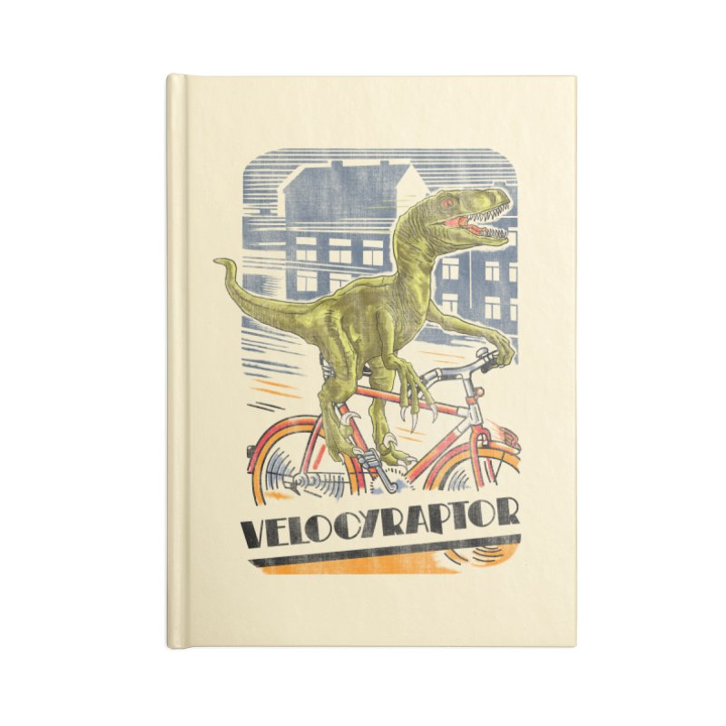 Velocyraptor Accessories Notebook by kooky love's Artist Shop