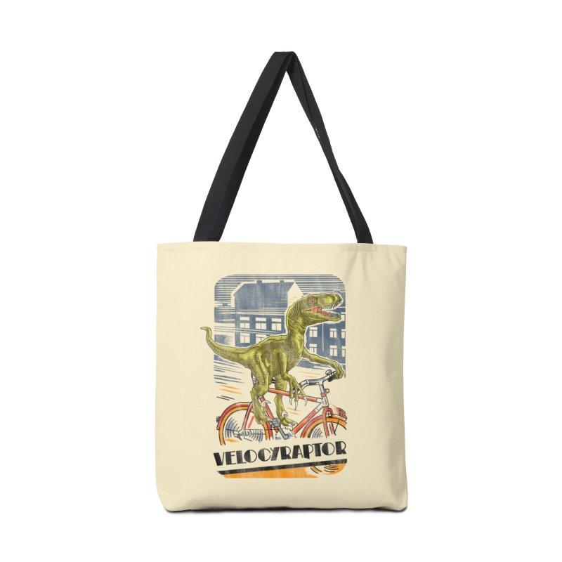 Velocyraptor Accessories Bag by kooky love's Artist Shop