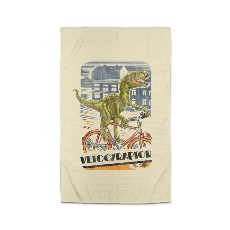 Velocyraptor Home Rug by kooky love's Artist Shop