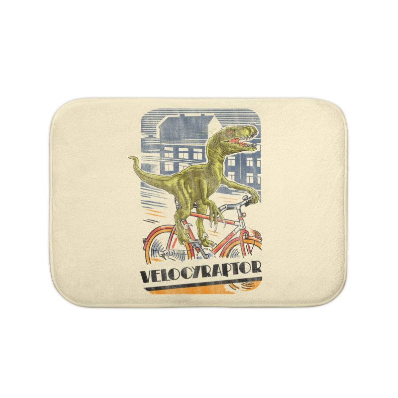 Velocyraptor Home Bath Mat by kooky love's Artist Shop