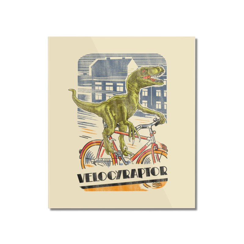 Velocyraptor Home Mounted Acrylic Print by kooky love's Artist Shop