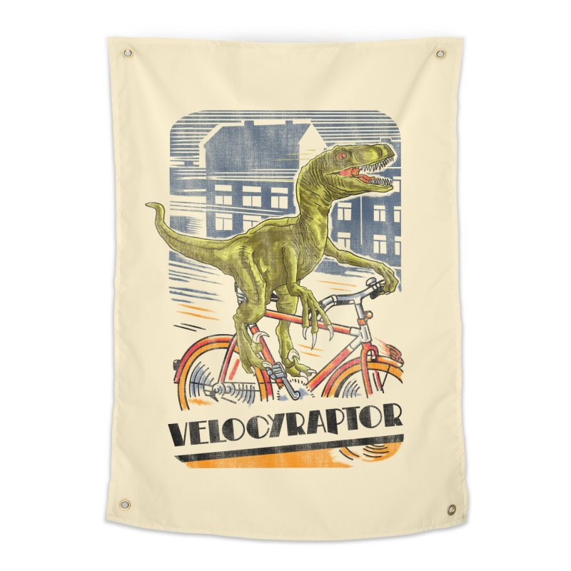 Velocyraptor Home Tapestry by kooky love's Artist Shop