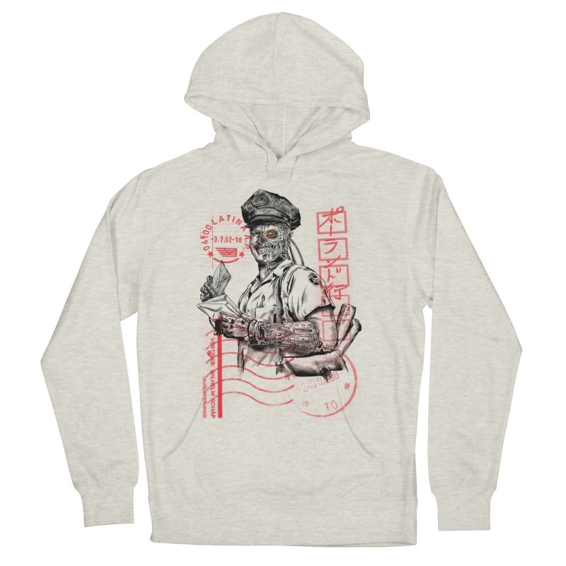 Disrupt Women's French Terry Pullover Hoody by kooky love's Artist Shop