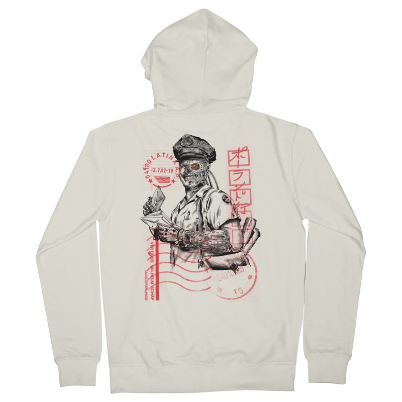 Disrupt Men's French Terry Zip-Up Hoody by kooky love's Artist Shop