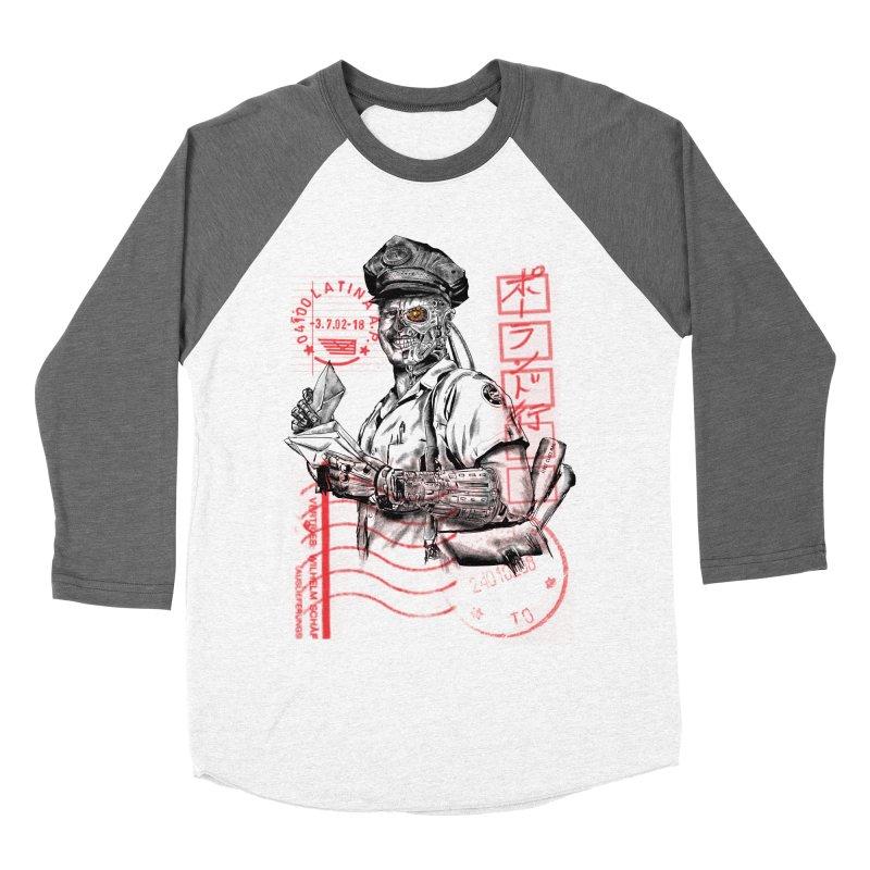 Disrupt Women's Baseball Triblend Longsleeve T-Shirt by kooky love's Artist Shop