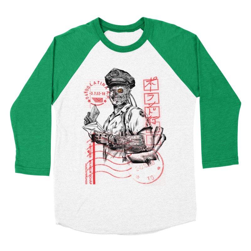 Disrupt Men's Baseball Triblend T-Shirt by kooky love's Artist Shop
