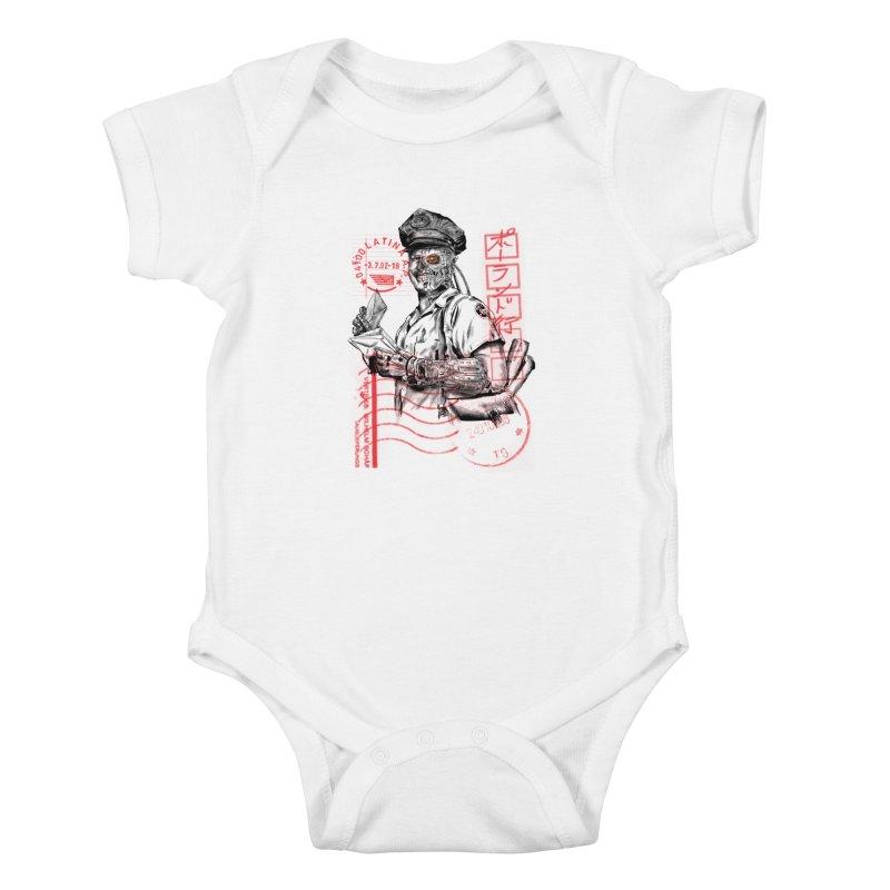Disrupt Kids Baby Bodysuit by kooky love's Artist Shop