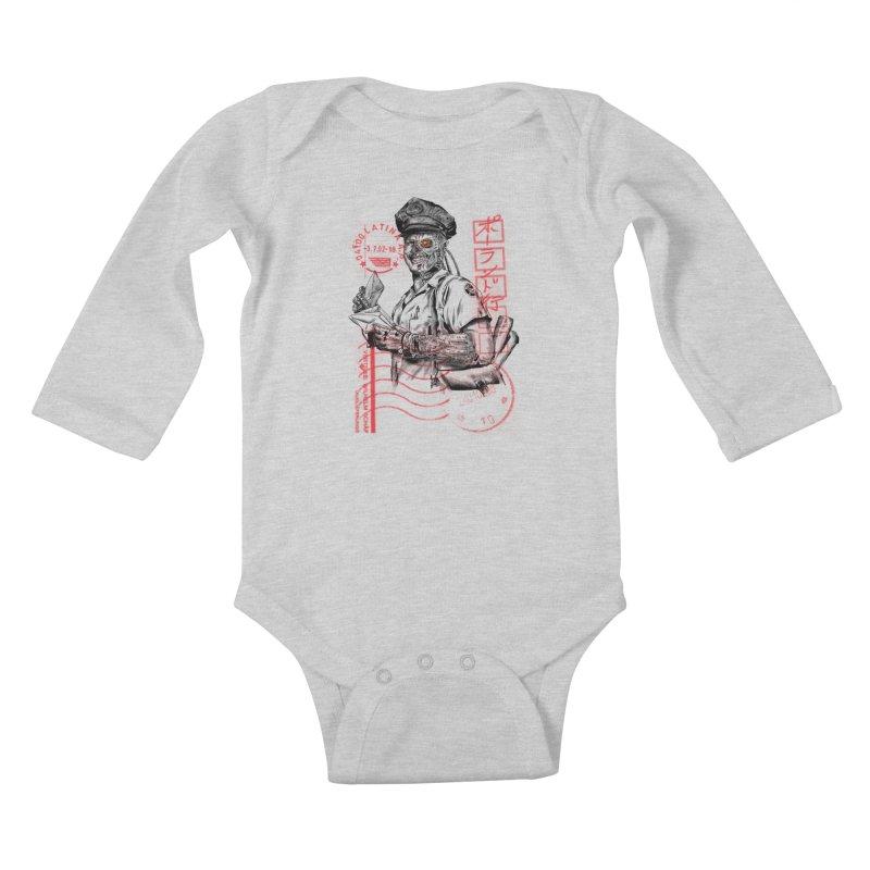 Disrupt Kids Baby Longsleeve Bodysuit by kooky love's Artist Shop