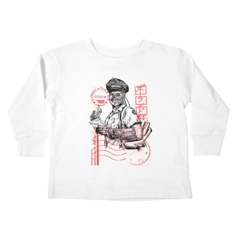 Disrupt Kids Toddler Longsleeve T-Shirt by kooky love's Artist Shop