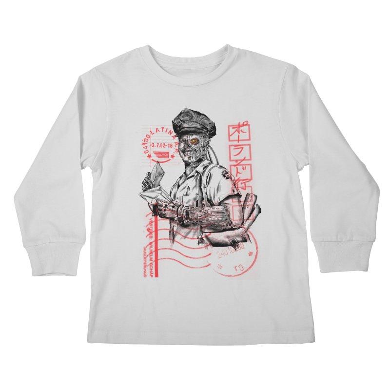 Disrupt Kids Longsleeve T-Shirt by kooky love's Artist Shop