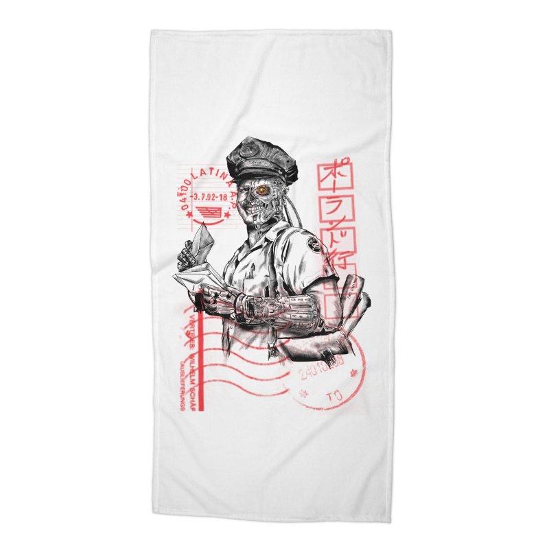 Disrupt Accessories Beach Towel by kooky love's Artist Shop