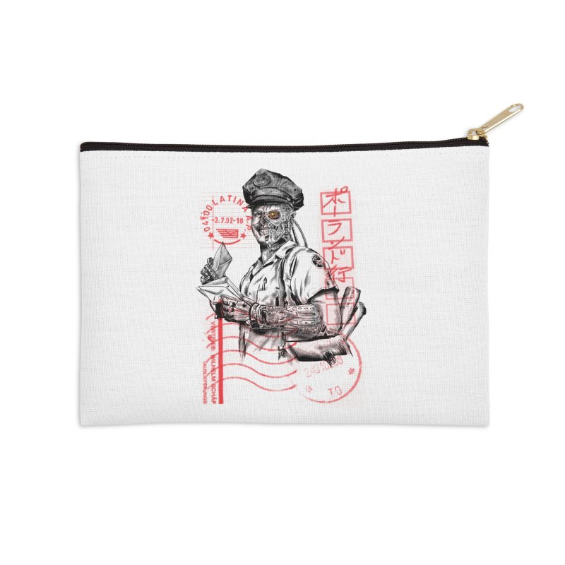 Disrupt Accessories Zip Pouch by kooky love's Artist Shop