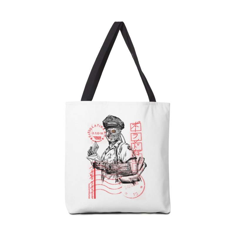 Disrupt Accessories Bag by kooky love's Artist Shop