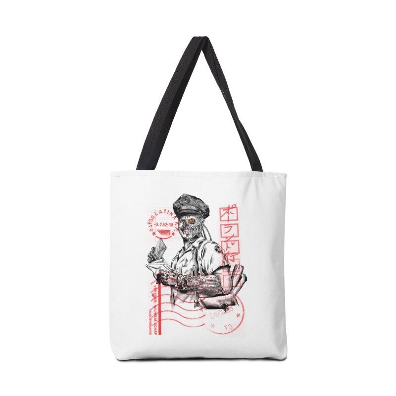 Disrupt Accessories Bag by kooky love's Artist Shop