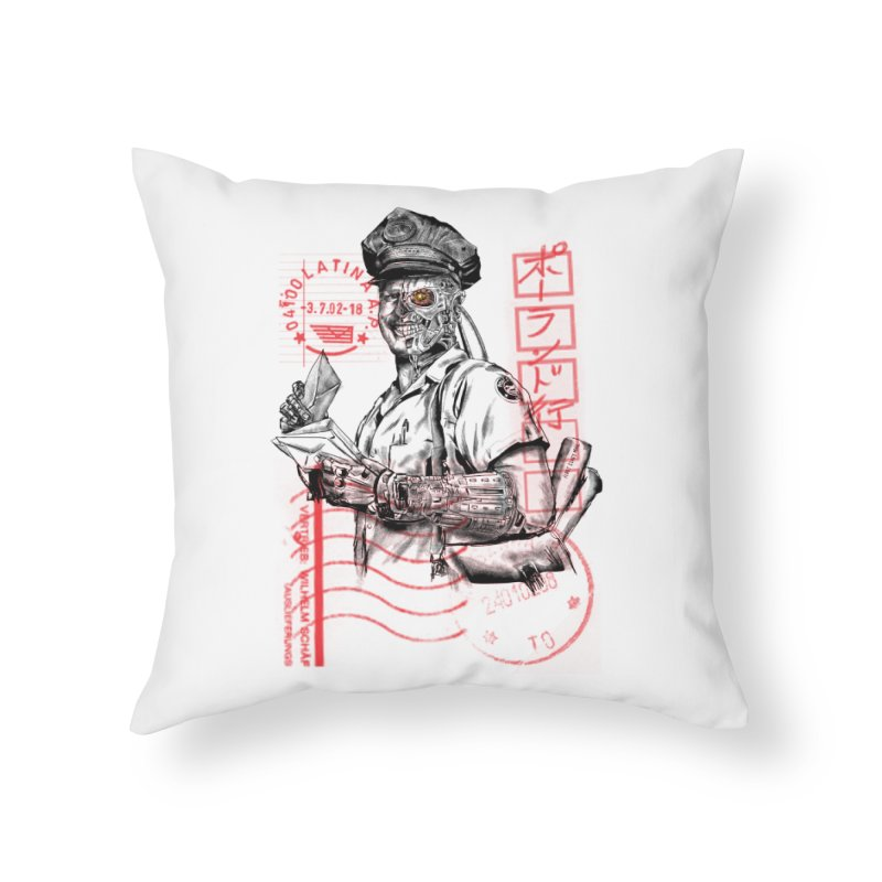 Disrupt Home Throw Pillow by kooky love's Artist Shop
