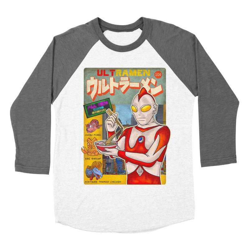 ULTRAMEN Men's Baseball Triblend Longsleeve T-Shirt by kooky love's Artist Shop