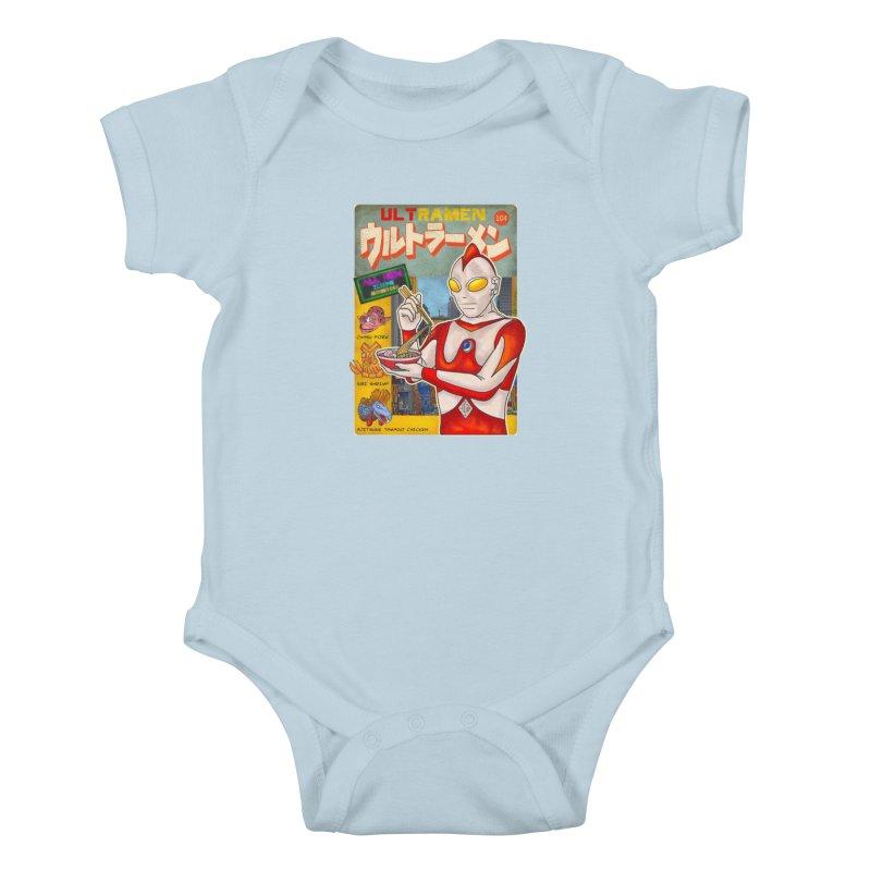 ULTRAMEN Kids Baby Bodysuit by kooky love's Artist Shop