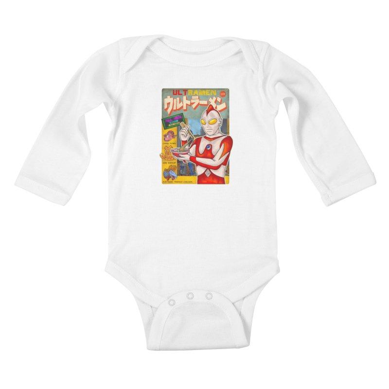 ULTRAMEN Kids Baby Longsleeve Bodysuit by kooky love's Artist Shop