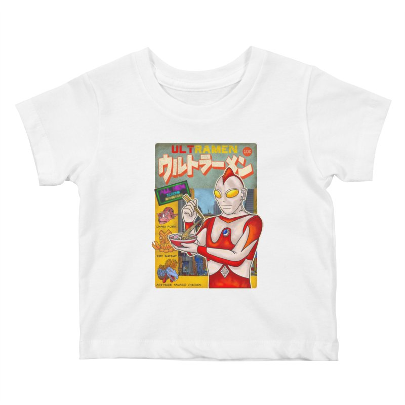 ULTRAMEN Kids Baby T-Shirt by kooky love's Artist Shop