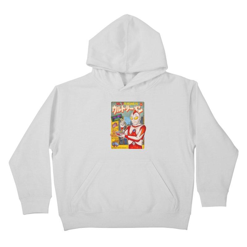 ULTRAMEN Kids Pullover Hoody by kooky love's Artist Shop