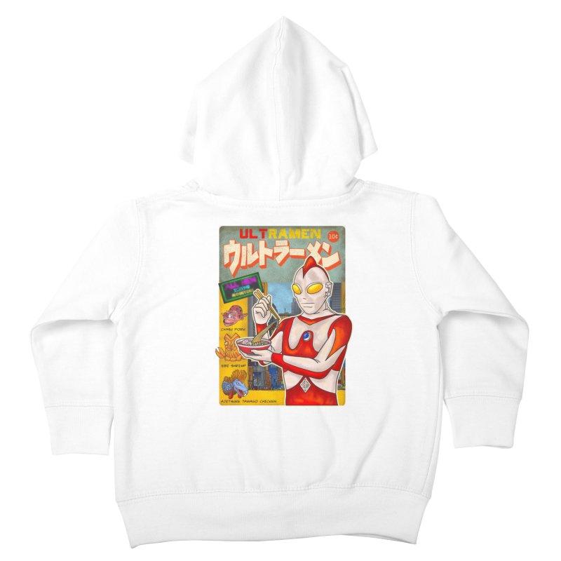 ULTRAMEN Kids Toddler Zip-Up Hoody by kooky love's Artist Shop