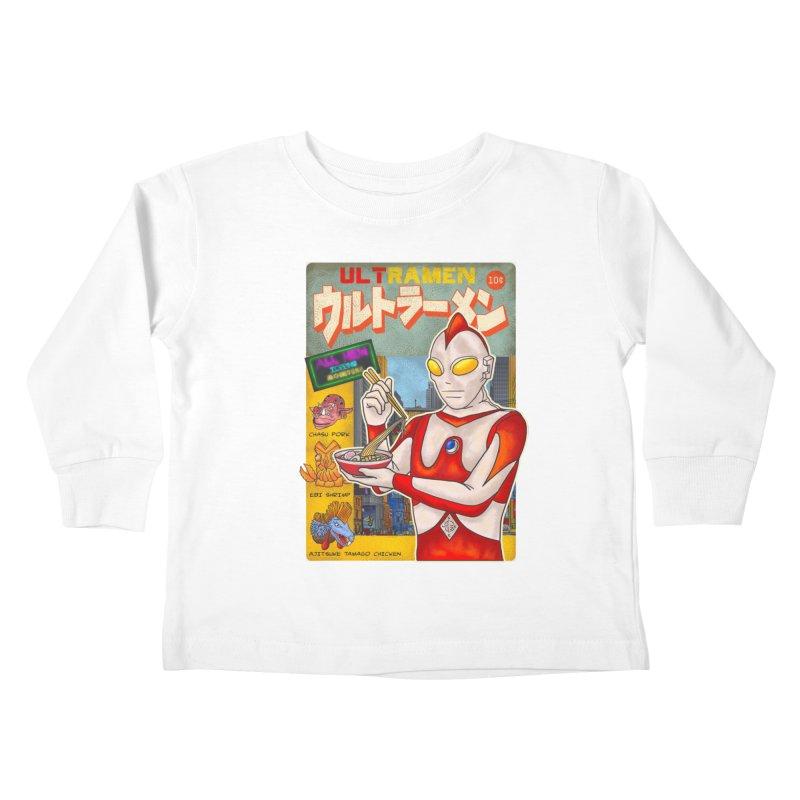 ULTRAMEN Kids Toddler Longsleeve T-Shirt by kooky love's Artist Shop