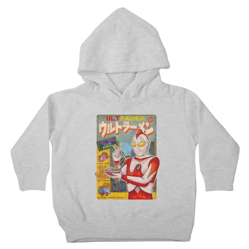 ULTRAMEN Kids Toddler Pullover Hoody by kooky love's Artist Shop