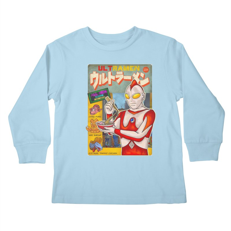 ULTRAMEN Kids Longsleeve T-Shirt by kooky love's Artist Shop