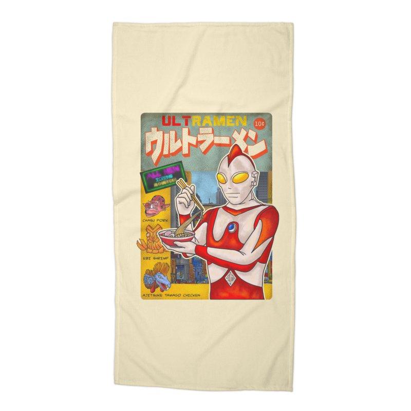 ULTRAMEN Accessories Beach Towel by kooky love's Artist Shop