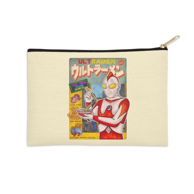ULTRAMEN Accessories Zip Pouch by kooky love's Artist Shop