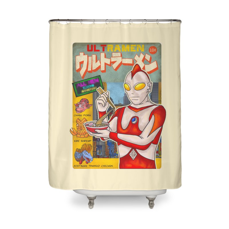 ULTRAMEN Home Shower Curtain by kooky love's Artist Shop