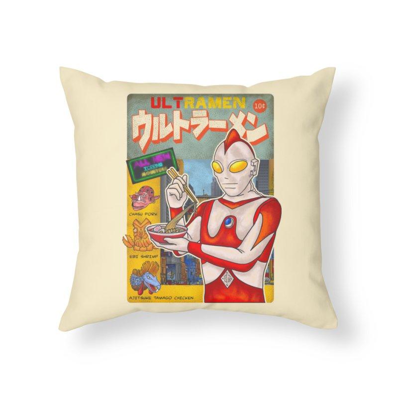 ULTRAMEN Home Throw Pillow by kooky love's Artist Shop