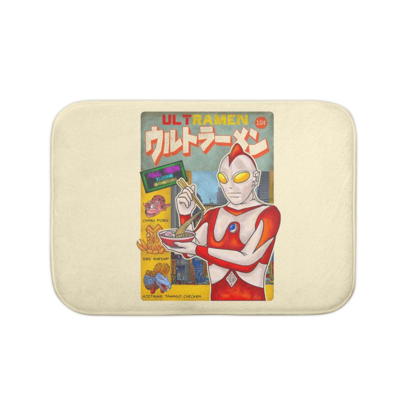 ULTRAMEN Home Bath Mat by kooky love's Artist Shop