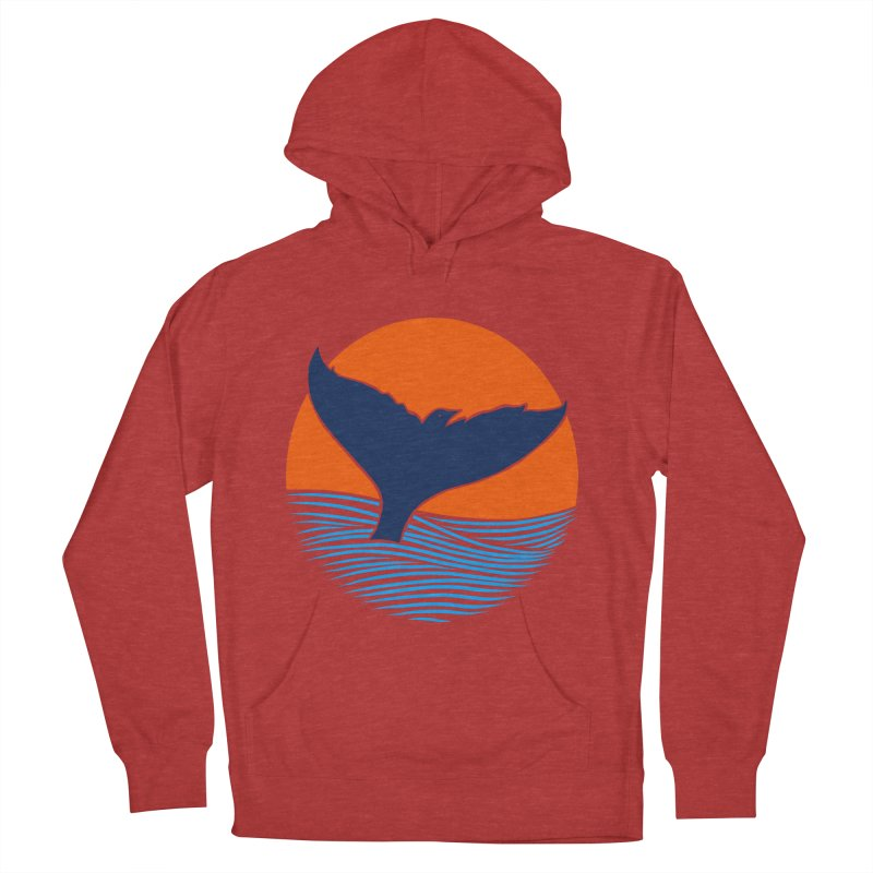 Wings & Tail Women's French Terry Pullover Hoody by kooky love's Artist Shop