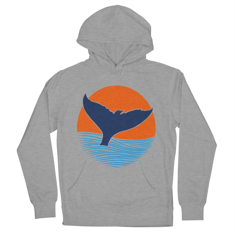 Wings & Tail Men's French Terry Pullover Hoody by kooky love's Artist Shop