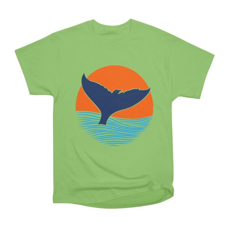 Wings & Tail Men's Heavyweight T-Shirt by kooky love's Artist Shop