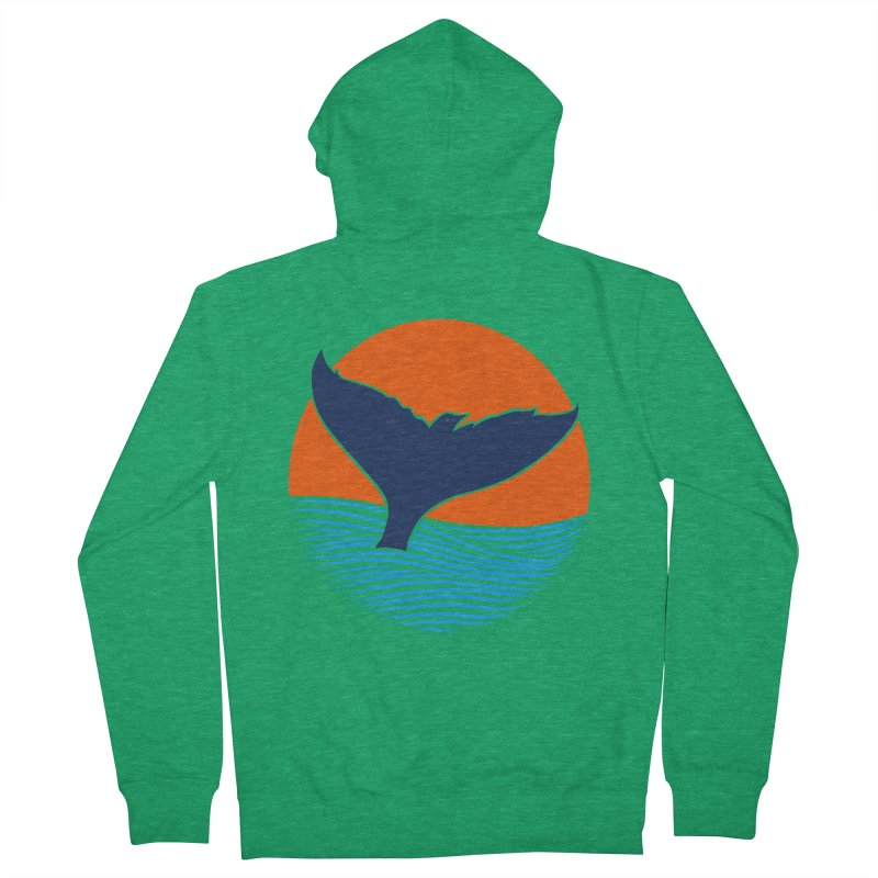 Wings & Tail Men's Zip-Up Hoody by kooky love's Artist Shop