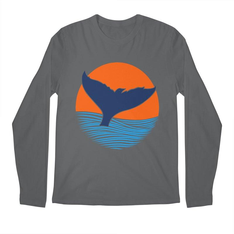 Wings & Tail Men's Regular Longsleeve T-Shirt by kooky love's Artist Shop