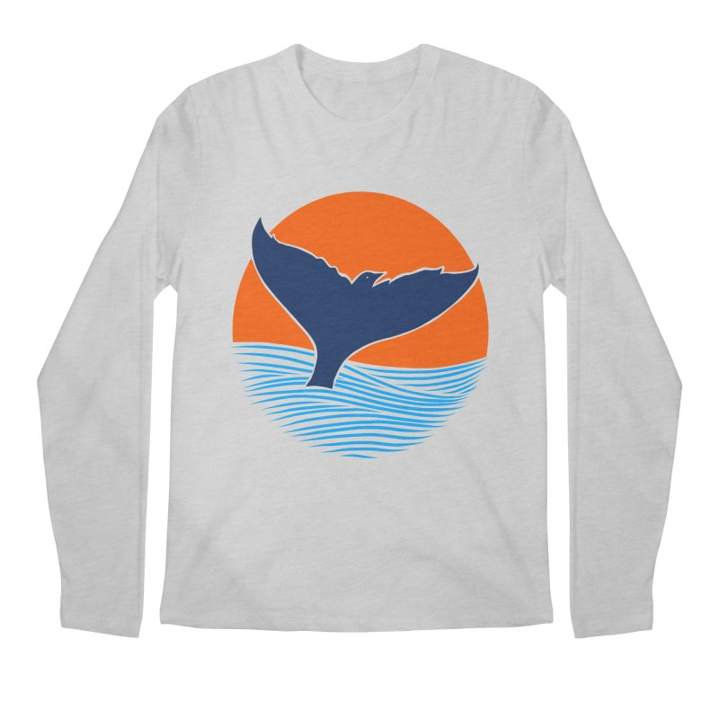 Wings & Tail Men's Regular Longsleeve T-Shirt by kooky love's Artist Shop